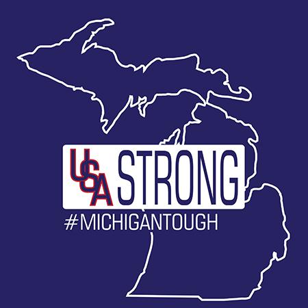 USA Strong Michigan Tough